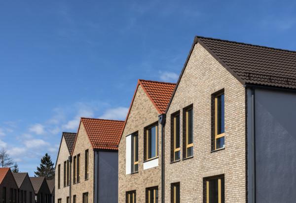 Drugi etap budowy domów EGO jest już praktycznie zakończony - inwestor kończy budowę latem tego roku.