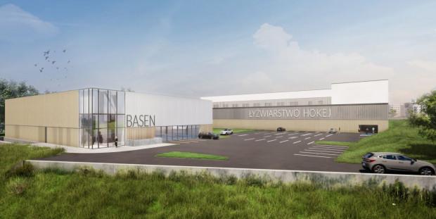 W drugim etapie kompleks zostanie rozbudowany o budynek z basenem.