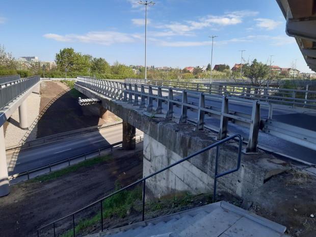 Prace związane z remontem wiaduktu drogowego i kładki dla pieszych na węźle al. Sikorskiego i al. Armii Krajowej potrwają od 31 maja do 20 listopada.