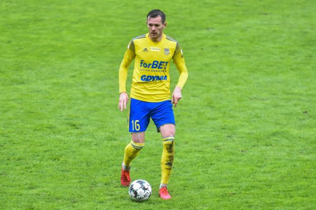 Adam Deja strzelił gola z rzutu wolnego w meczu Korona Kielce - Arka Gdynia (3:3).