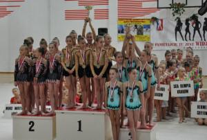 W sobotę i w niedzielę w Gdyni rozdane zostaną puchar i medale najlepszych gimnastyczkom artystycznym w Turnieju Młodości