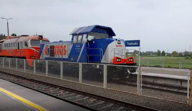 Pociągi Lotos Kolej będą jeździły na Litwę.