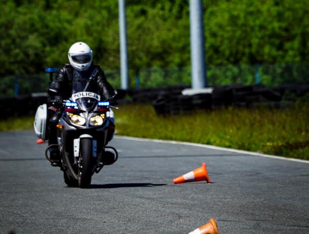 """Trening grupy """"Speed"""" na Autodromie Pomorze."""