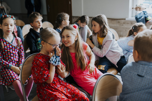 Dzień Dziecka w gdańskiej szkole.