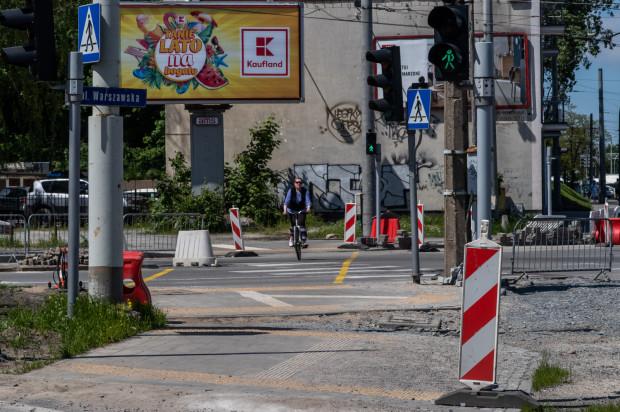 Skrzyżowanie ulic Morska i Warszawska ma zostać zmienione pod kątem poprawy przejezdności dla rowerzystów.