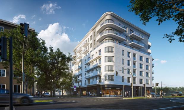 Ośmiokondygnacyjny apartamentowiec powstanie tuż obok powstającego właśnie wieżowca.