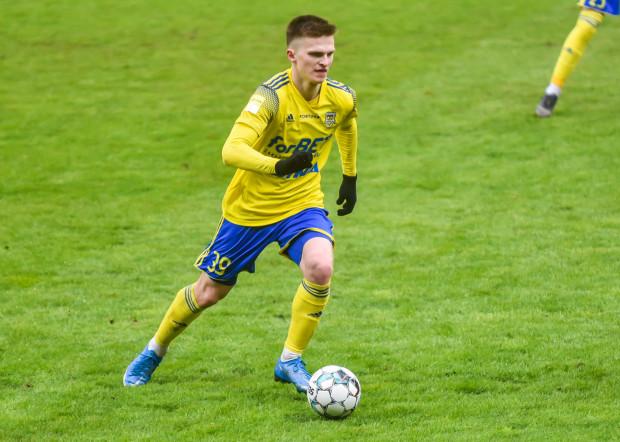 Maciej Rosołek strzelił już 10 goli w 18 meczach dla Arki Gdynia.