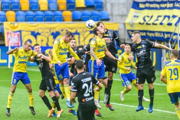 Arka Gdynia w pierwszym meczu barażowym zmierzy się z ŁKS Łódź. Jeśli zwycięży, o ekstraklasę powalczy z wygranym drugiego spotkania.