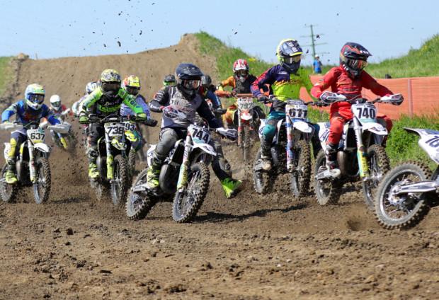 W ten weekend na gdańskim torze motocrossowym nie brakowało emocji.