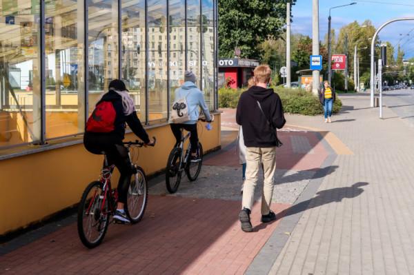 Do głosowania zostało dopuszczonych kilka projektów związanych z rowerami.