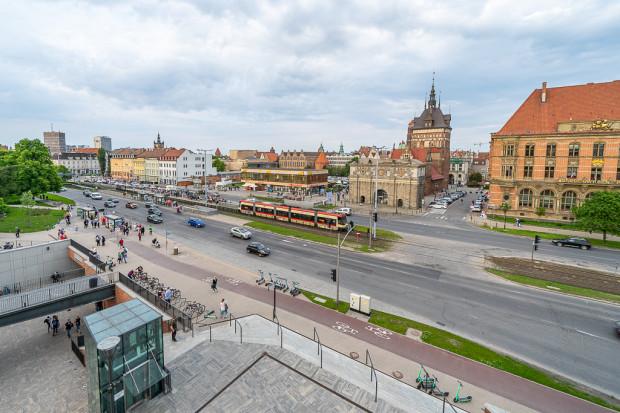 Wraz z budową przejścia przy Bramie Wyżynnej wykonany zostanie też przejazd dla rowerzystów.