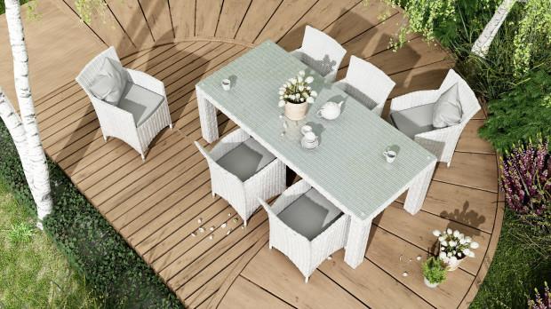 Stół Rapallo i fotele Amanda, Oltre