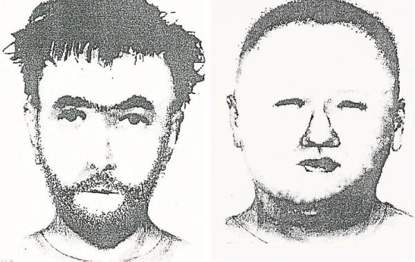 Portret pamięciowy opublikowany przez policję po zabójstwie Darii.