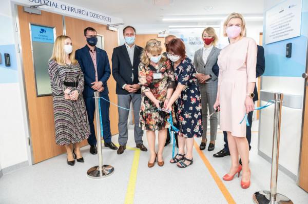 Otwarcie pediatrii w Gdyni - Szpital Miejski Wincentego a Paulo