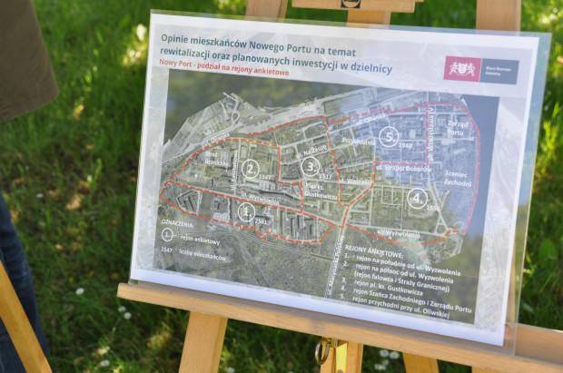W ramach badań dzielnicę podzielono na pięć obszarów, z których wybrano po 200 ankietowanych.