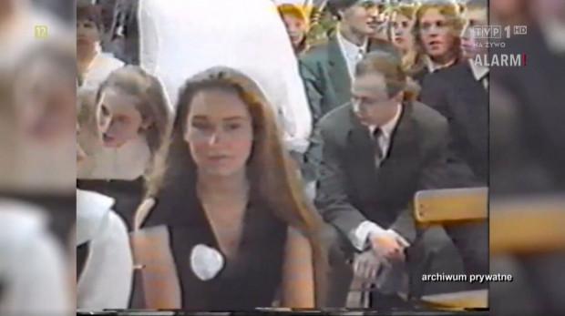 Screen z wyemitowanego przez TVP reportażu. Na pierwszym planie zamordowana Daria.