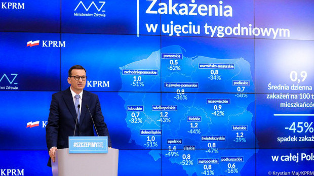 W czwartek po południu odbyła się konferencja premiera Mateusza Morawieckiego i ministra zdrowia Adama Niedzielskiego.