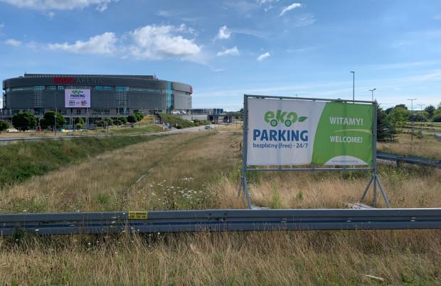 Pod Ergo Areną za darmo będzie mogło parkować 700 samochodów.