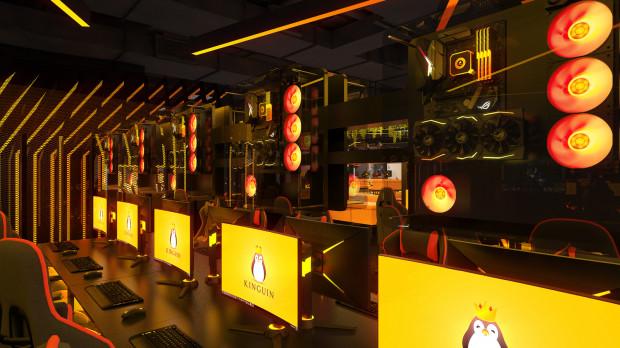 Kinguin Esports Lounge to raj dla graczy. Jedzenie, napoje, przyjaciele i gry.