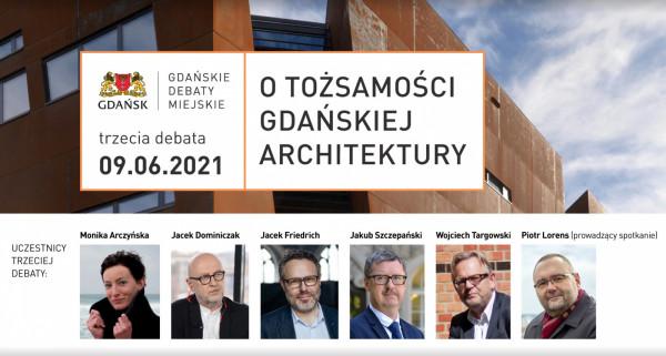 Debata była prowadzona w formie zdalnej. Wzięli w niej udział: Monika Arczyńska, Jacek Dominiczak, Jacek Friedrich, Jakub Szczepański, Wojciech Targowski oraz Piotr Lorens (w roli moderatora dyskusji).