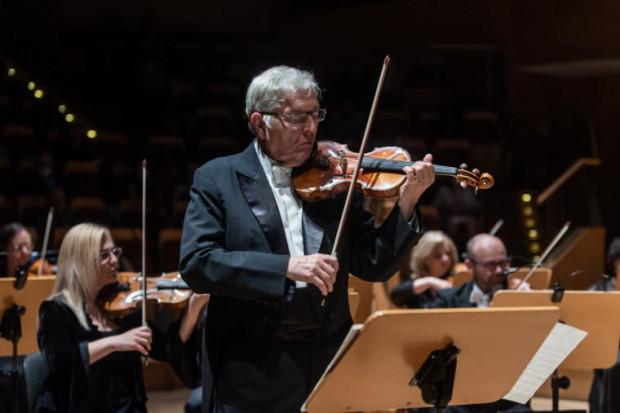 Konstanty Andrzej Kulka skradł serca słuchaczy emocjonalną interpretacją V Koncertu skrzypcowy e-moll Feliksa Janiewicza.