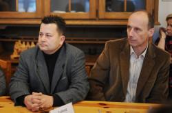 Wraz z Grzegorzem Szychlińskim nad wynalazkiem pracowali Mirosław Owczynnik i Dariusz Samek (z lewej), inżynierowie elektronicy z gdańskiej firmy EKO Elektronik.