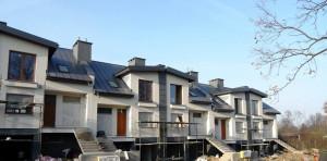 Stan budowy osiedla Siedem Dębów w październiku
