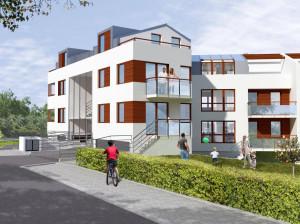 Segmenty Apartamentów na Skarpowej będą oddane do użytku z końcem przyszłego roku.