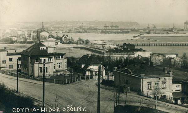 Panorama Gdyni w 1931 r.