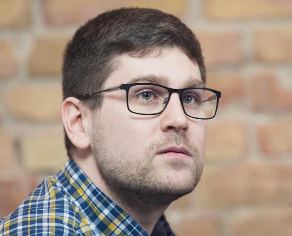 Bartosz Stefański, przewodniczący Zarządu Dzielnicy Osowa, ma wiele uwag do zaplanowanej inwestycji.