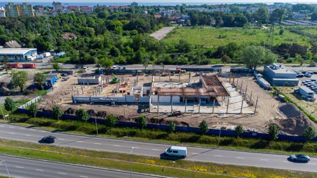 W Gdańsku przy ul. Uczniowskiej powstaje nowy salon Volvo Drywa.