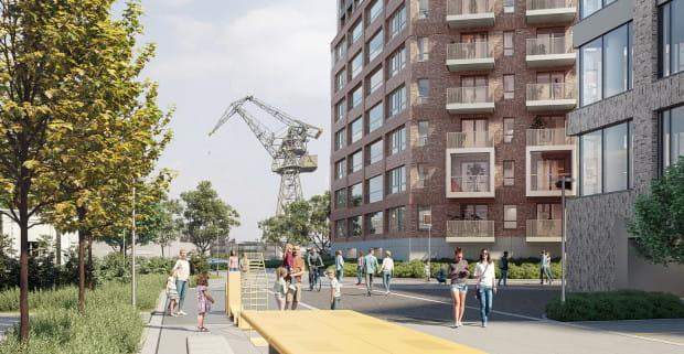 Można już kupić mieszkanie w inwestycji Żurawie na Młodym Mieście. W ofercie są lokale o powierzchni od 29 do 92 m kw.