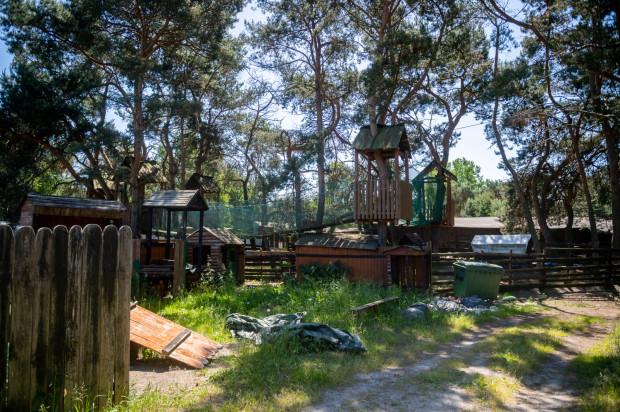 Teren Rancha Promenada w Brzeźnie jest obecnie mocno zaniedbany.