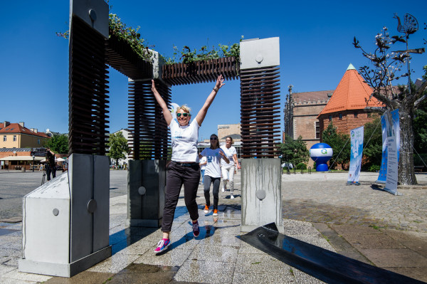 W Gdańsku znów będzie można zaznać ochłody, którą zapewnią mgiełki wodne.