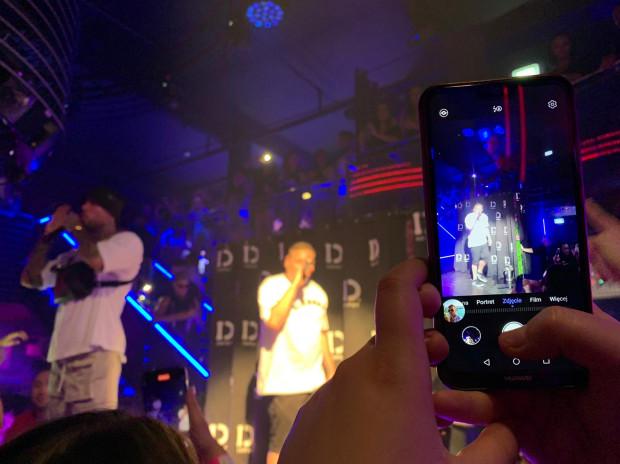 Raper podczas swojego występu porwał publiczność.