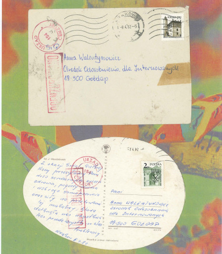 Kartka do Anny Walentynowicz znaleziona na wysypisku w Szadółkach trafiła do zbiorów ECS.
