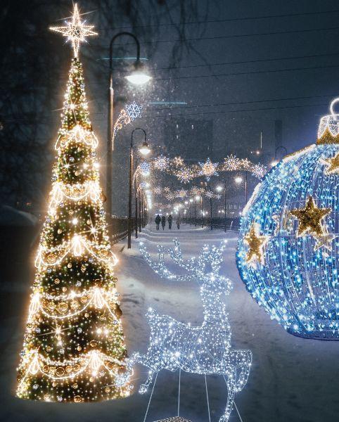 Iluminacje mają rozjaśnić Dąbrowę i park Kiloński.