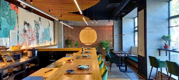 W Umiko Sushi możemy zjeść m.in. sushi z tuńczykiem błękitnopłetwym.