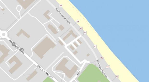 Numery wejść na plaże w całym Trójmieście znajdziesz na  mapie Trójmiasta w Trojmiasto.pl