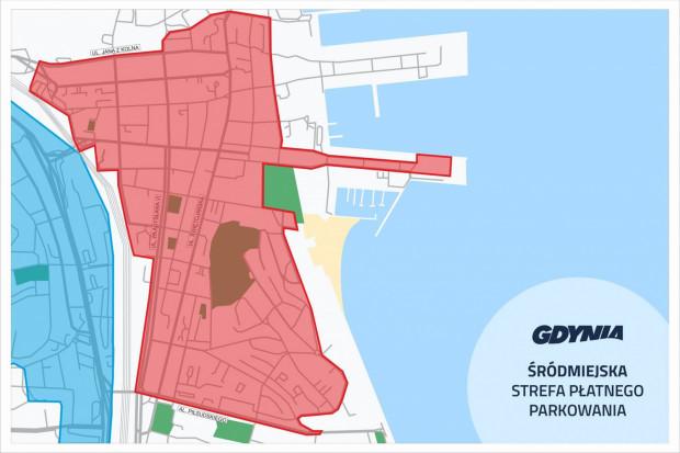 Śródmiejska Strefa Płatnego Parkowania w Gdyni.
