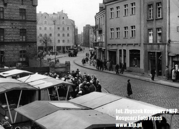 Ul. Pańska w drugiej połowie lat 60.