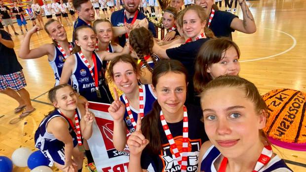 Koszykarki GTK Gdynia zostały mistrzyniami Polski U-13.
