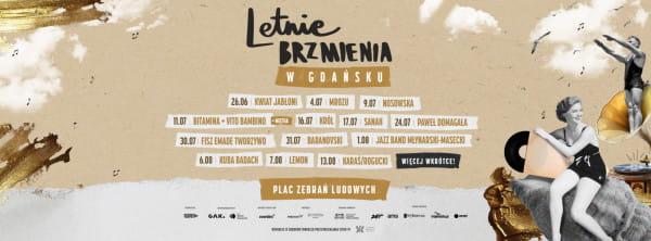 Line-up cyklu koncertów Letnie Brzmienia