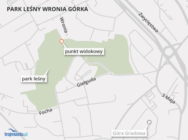 Prace budowlane będą toczyły się na całym terenie parku Wronia Górka.