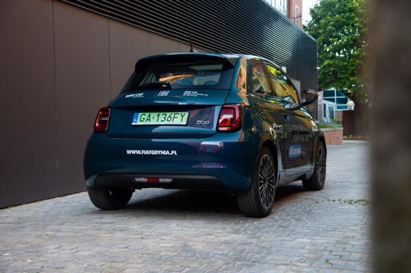 Nowy Fiat 500 w wersji hatchback.
