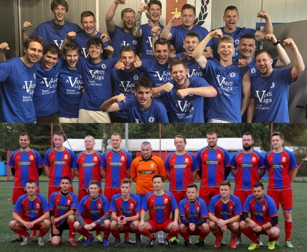 Gedania II (u góry) i Morena Gdańsk (na dole) już przypieczętowały awanse odpowiednio do: V ligi i A klasy.