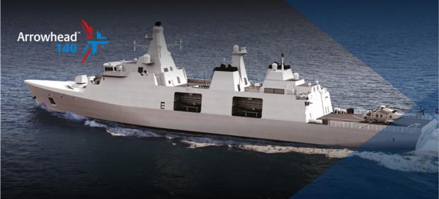 Czy tak będą wyglądały fregaty dla Polskiej Marynarki Wojennej?