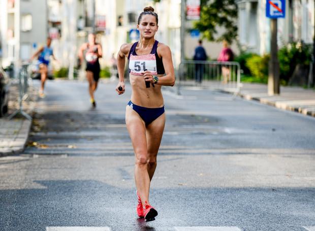 Agnieszka Ellward (Flota Gdynia) zdobyła złoty medal w chodzie na 5 km w 97. mistrzostwach Polski w lekkoatletyce.