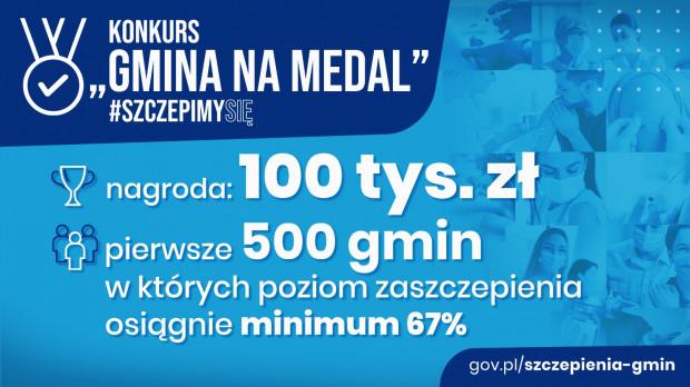 Konkursy dla gmin w Narodowym Programie Szczepień.