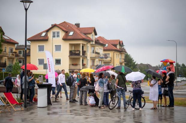 Spotkanie z mieszkańcami Osowej, którzy są przeciwko budowie Majalandu.